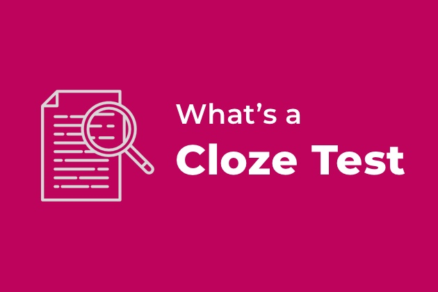 Cloze test: what is it and why it's important in UX Writing 1